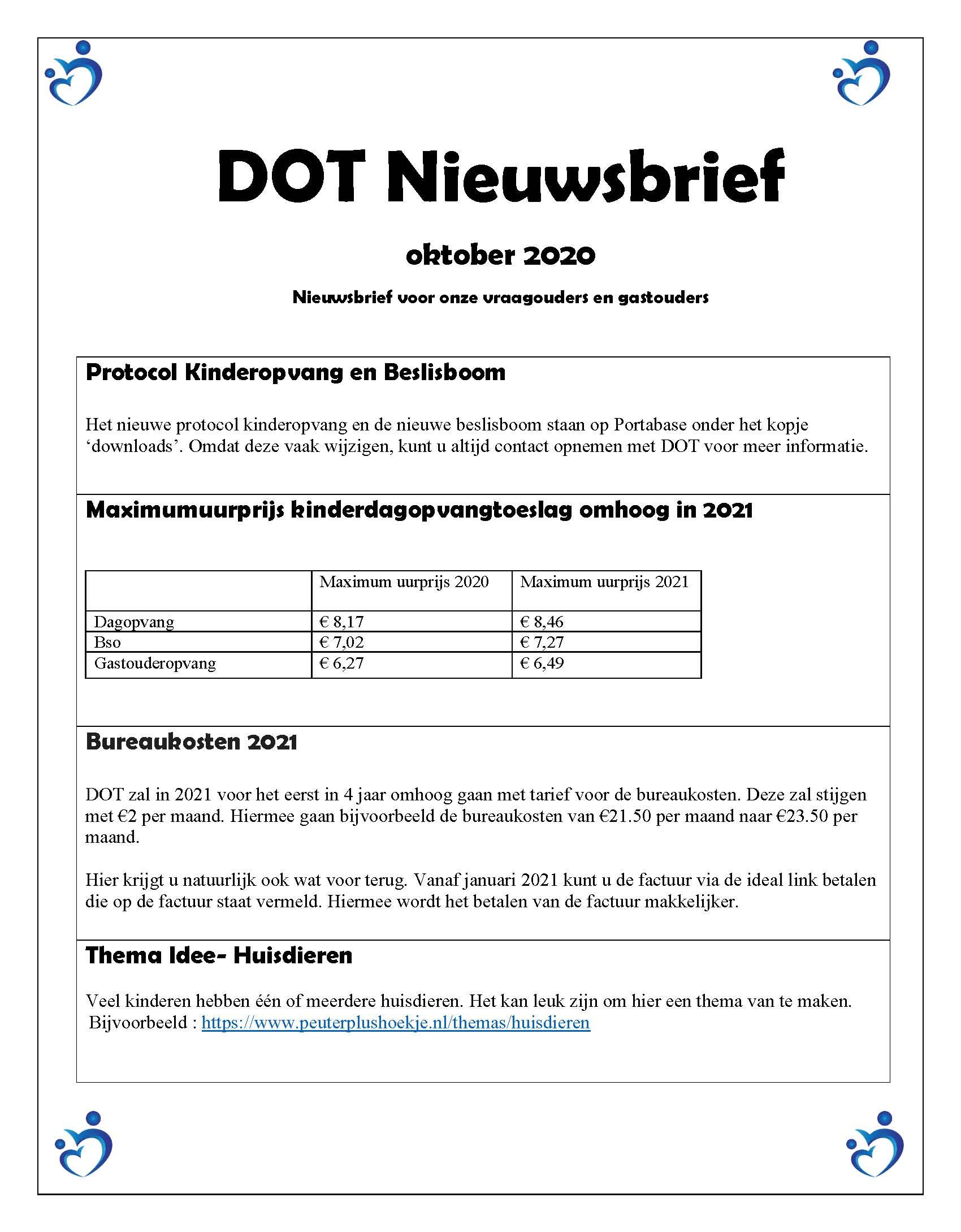 Nieuwsbrief okober 2020 blz-1