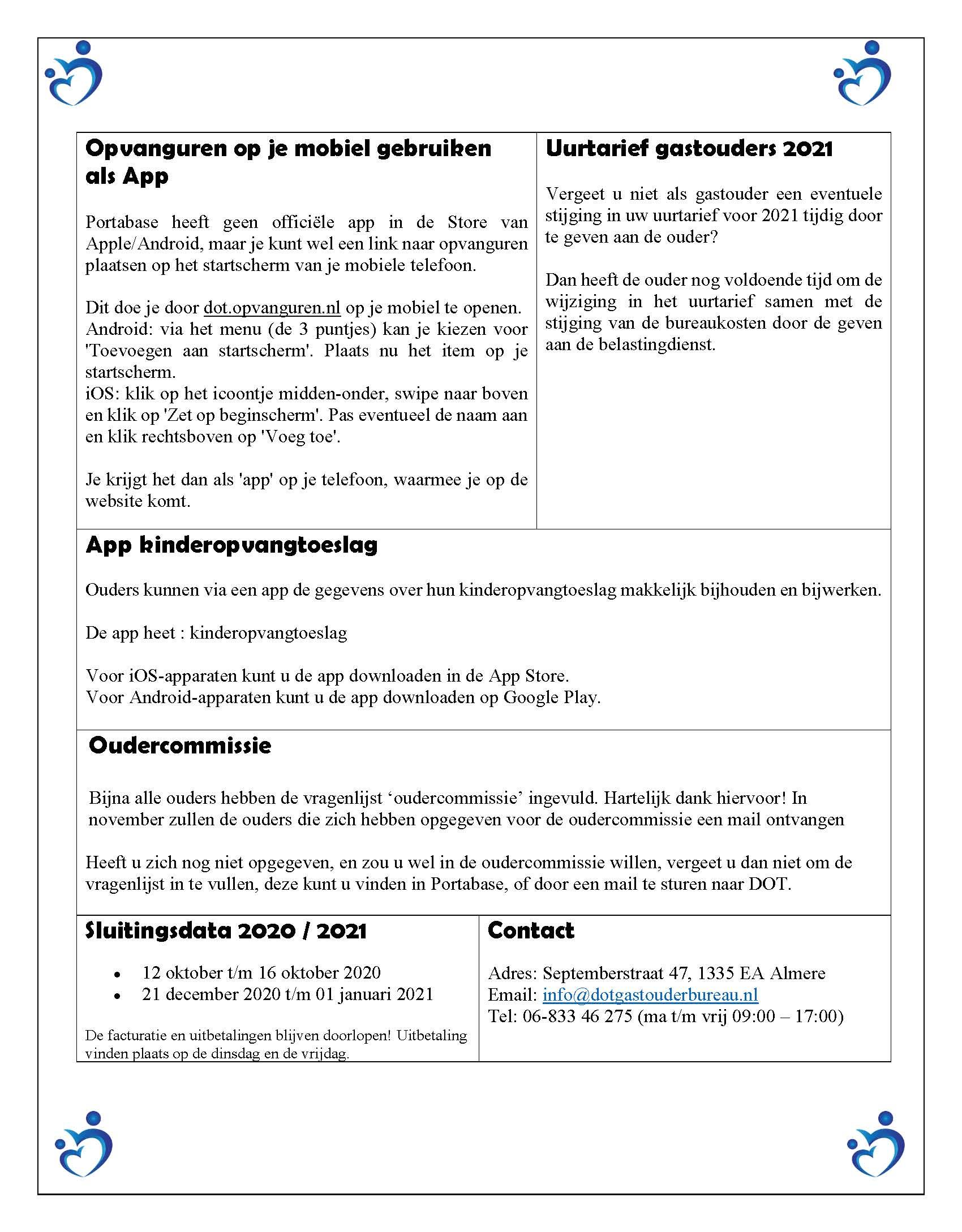 Nieuwsbrief okober 2020 blz-2